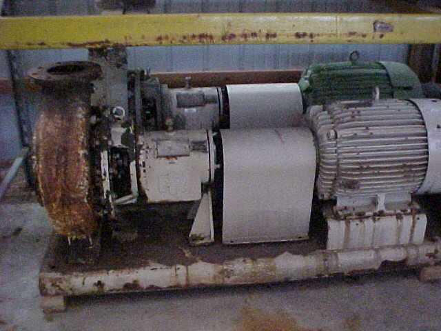 Ingersoll Rand Pump - Size 8x6x13 HOC - 75 HP - Ductile