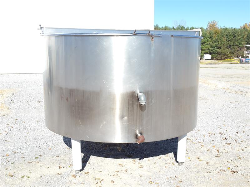 14014 - 400 Gallon CHESTER JENSEN COOKER/COOLER